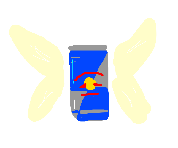 Red Bull gives you wings?