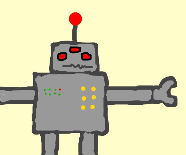 Robot with third eye