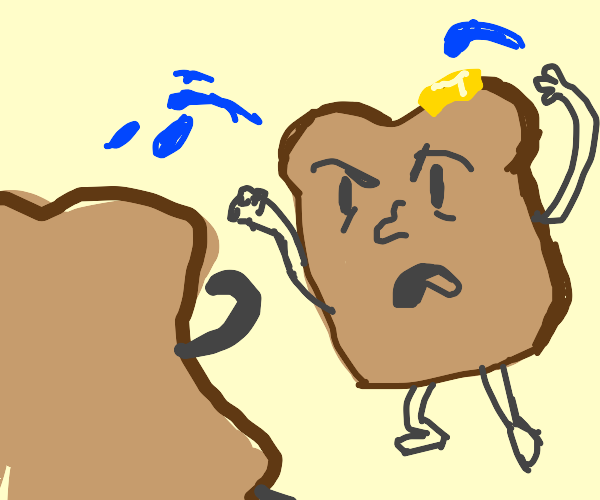 toast water fight (graphic sogginess!)