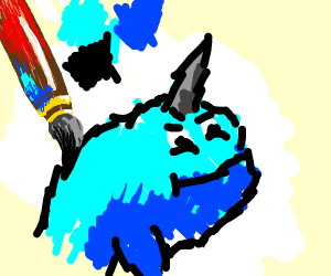 Painting Narwhal