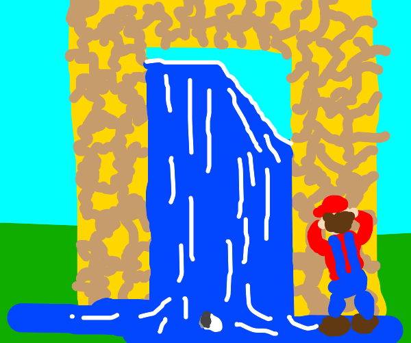 Super Mario goes to the Aether Dimension