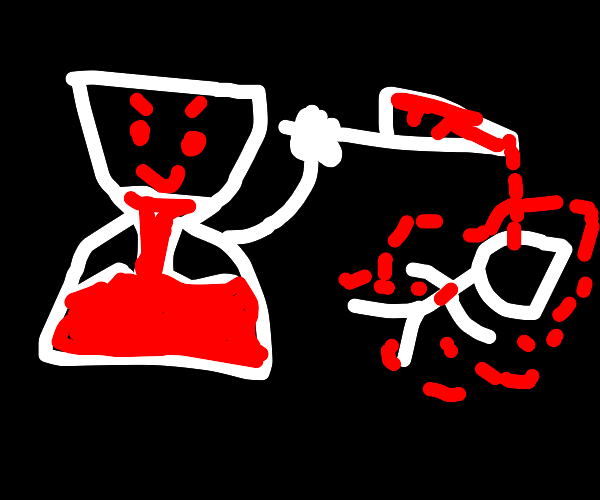 The hourglass has no mercy.