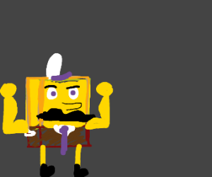 Manly Spongebob