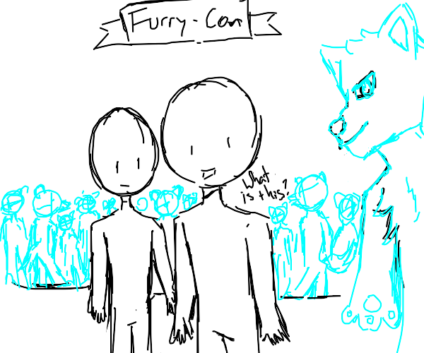 First-timers at the furry convention