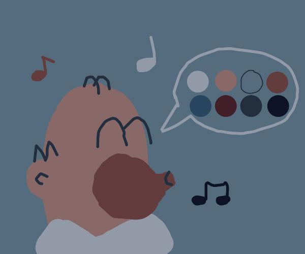 Homer Simpson Sings the Blues