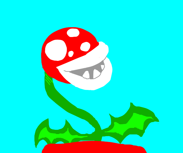 Red Piranha plant