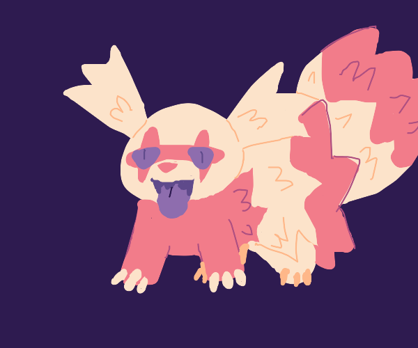 Strawberry-flavoured zigzagoon