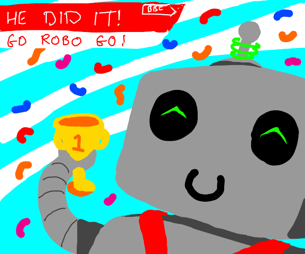 Robot that got first place