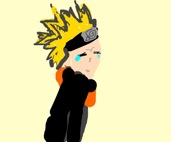 Naruto is very upset