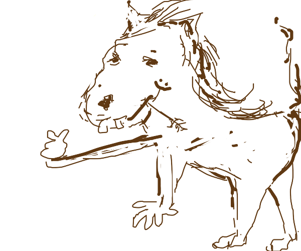 Horses with hands