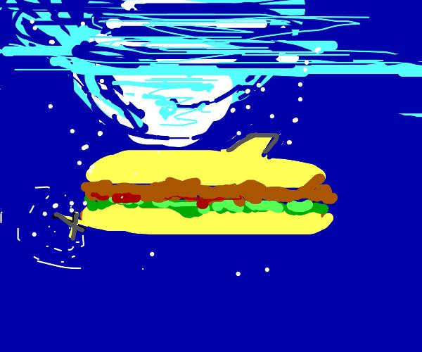 A yellow submarine