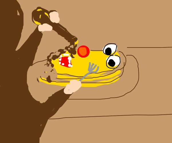 yellmo but pancake