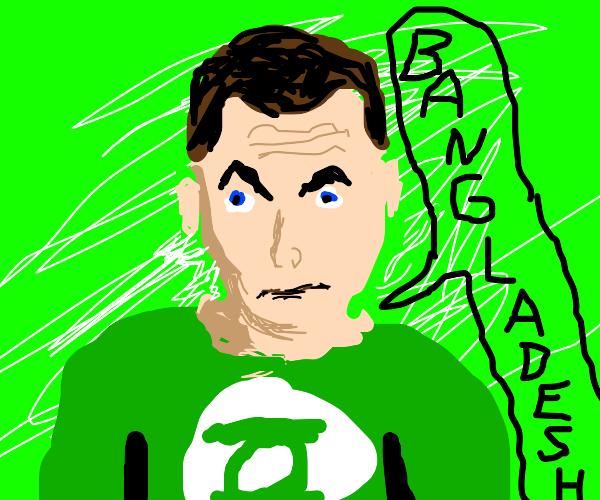 Sheldon from Big Bang Theory