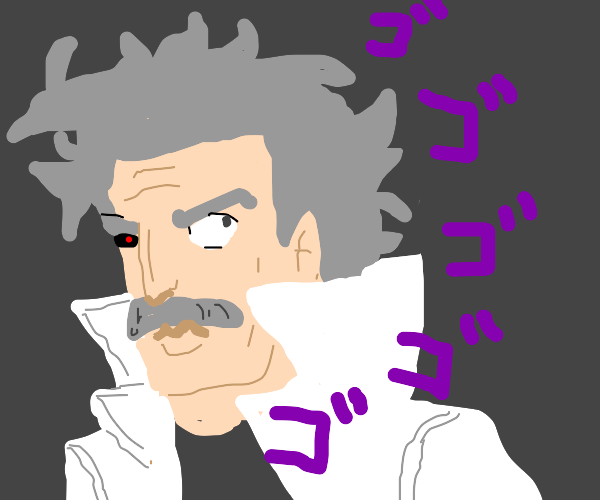 anime Albert Einstein