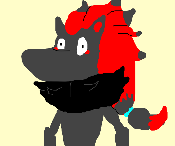 Zoroark, but the last drawing will be my icon