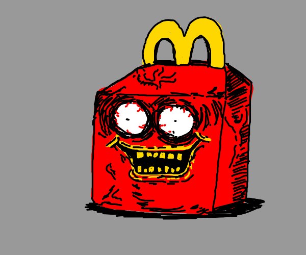 a crazy happy meal