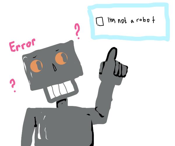 Robot can't figure out captcha