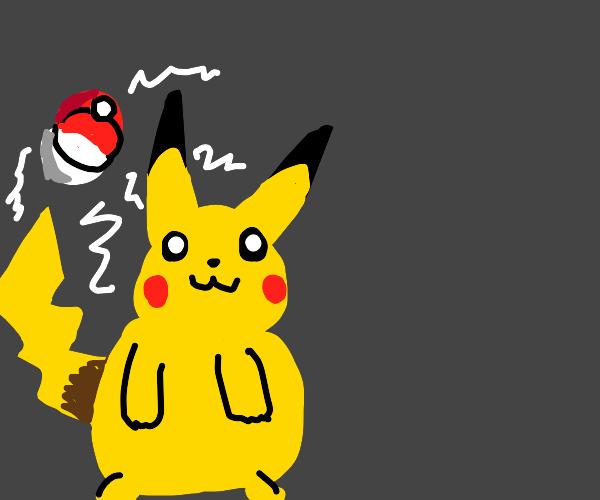 Pikachu I choose you!