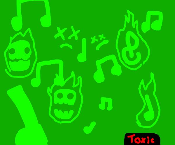 Toxic music