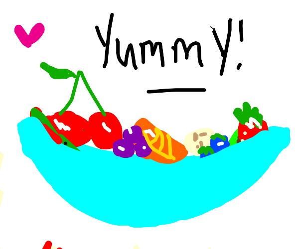 Fruit Salad, Yummy Yummy