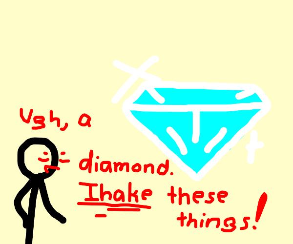 "Guy ""IHAKE""s a diamond"