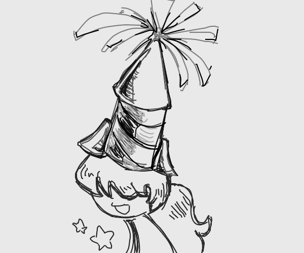Firework Hat
