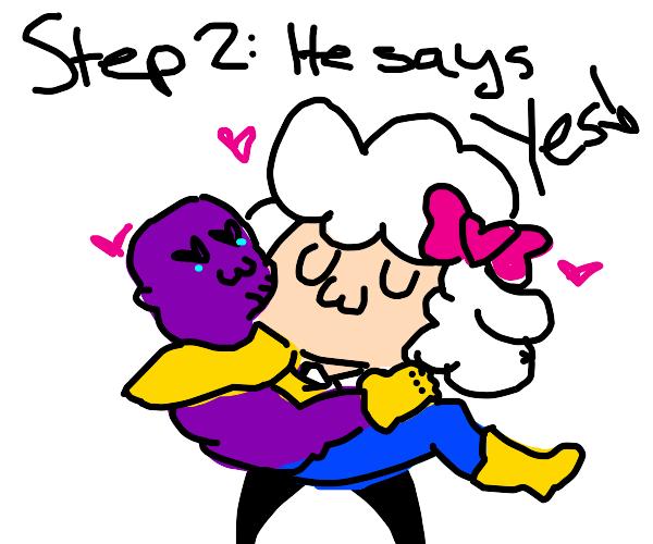 Step 1: Propose to Thanos