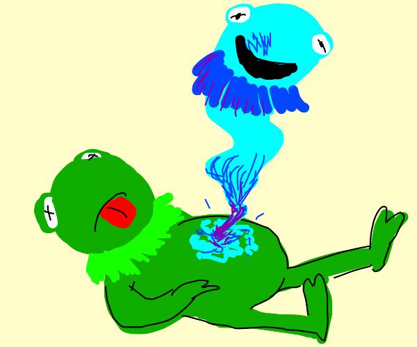 Kermit dies and ascends