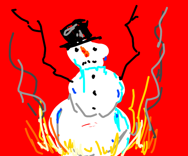 die, snowman