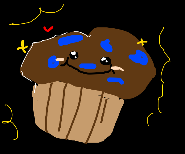 bald cupcake is muffin; wrapper so not naked