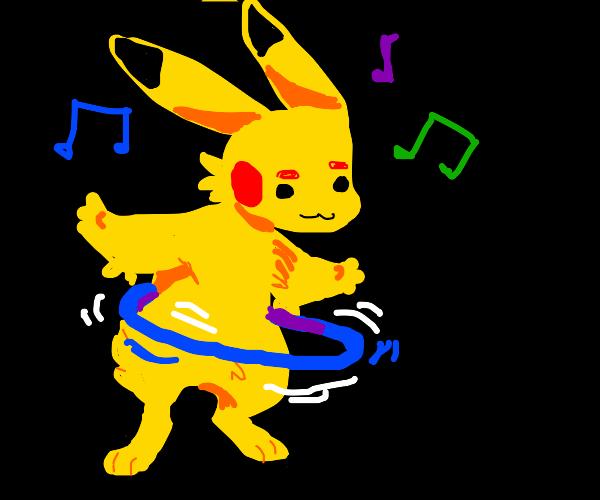 pikachu hulahoop