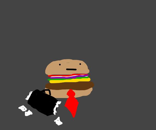 Lawyer cheeseburger
