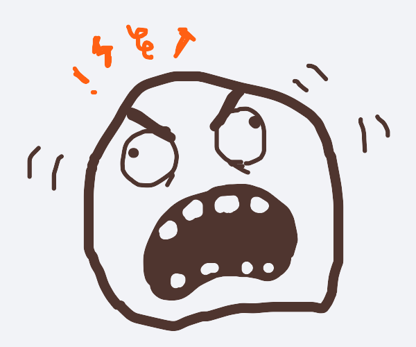 rage comic rage face