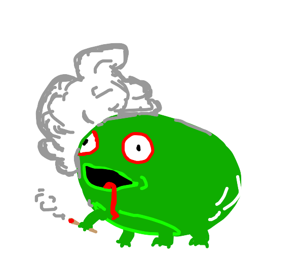 a very high frog