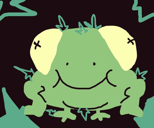 crystal frog