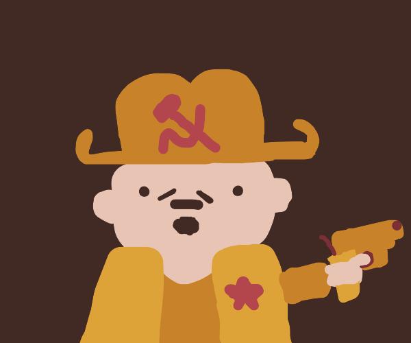 Cowboy commie