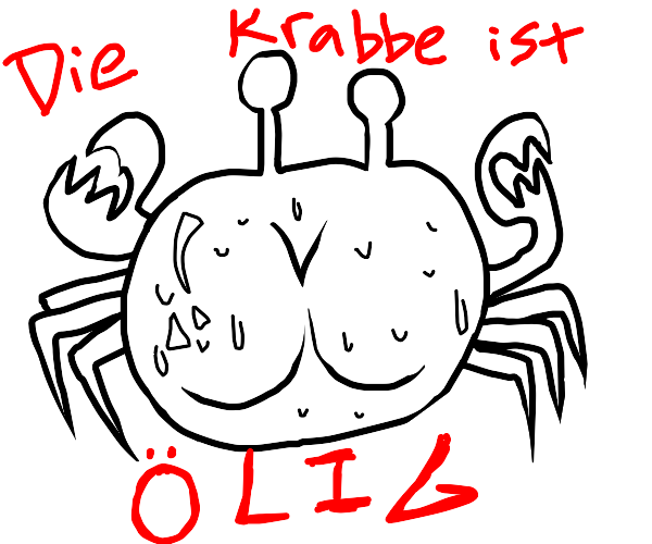 THICC krabs in german
