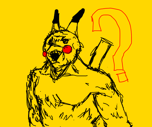 The mysterious Pikachu-Man