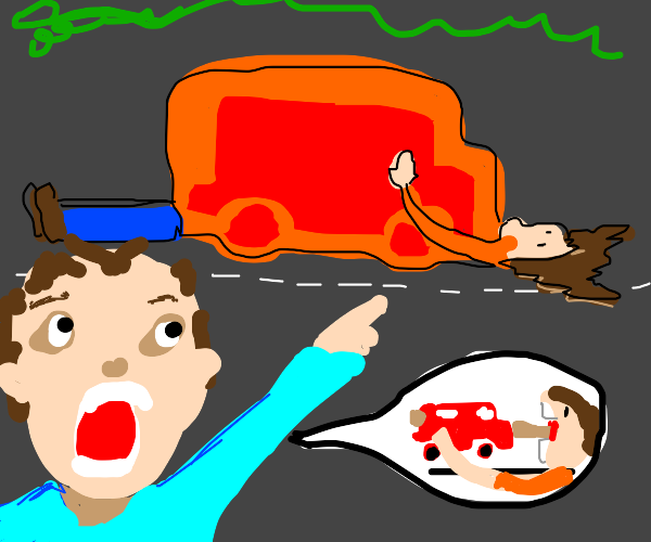Someone ate my car!