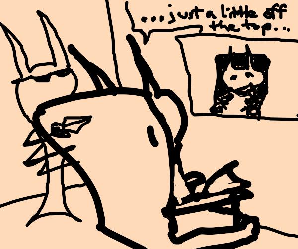 Shrimp Hairdresser