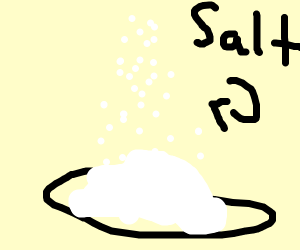 step 5: add even more salt