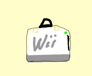wii suitcase