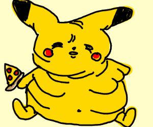 morbidly obese pikachu
