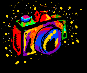 Abstract rainbow camera