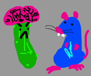 Pickle dislikes Remy and has big brain