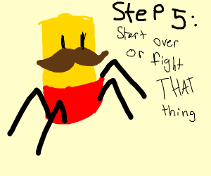 Step 3: realize you hit step 4 by mistake