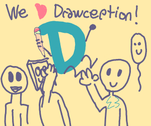 We love drawception