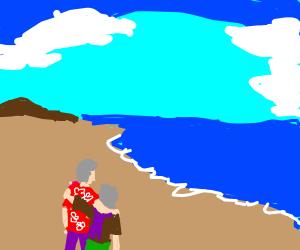 old couple on love island