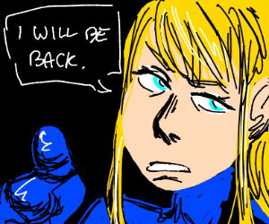Samus Aran says she is gonna come back