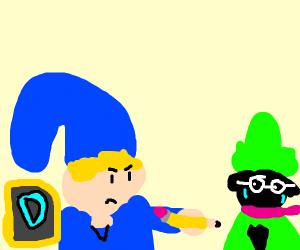 Blue Link insults Ralsei